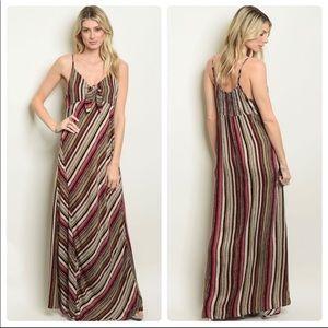 Women's Earth BoHo Maxi Dress